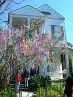 Mardi Gras Tree by Kicks02