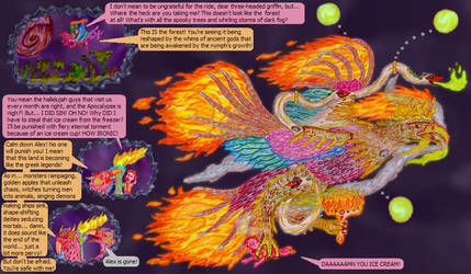 EAGLE OF FLAMES (SEED #24) by King-of-Monster-Gods