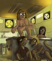 Species-swap: Jurassic Park by killb94
