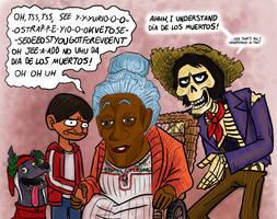 Great Grandma Coco by killb94
