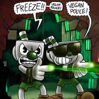 The Vegan Police by killb94