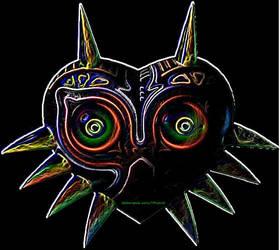 Majora's Mask: Neon by TFhybrid