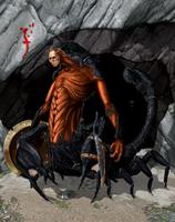 Scorpion Man by Caetis