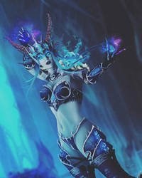 Sindragosa The Frost Queen (human form) by VereskVeresk