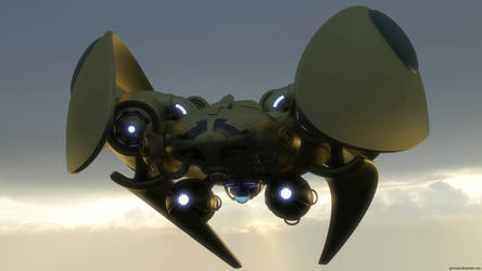 Protoss Arbiter by Ambrozewicz