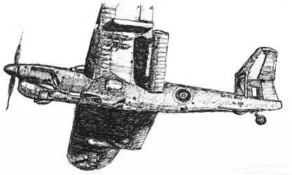 Fairey Barracuda by hallovey