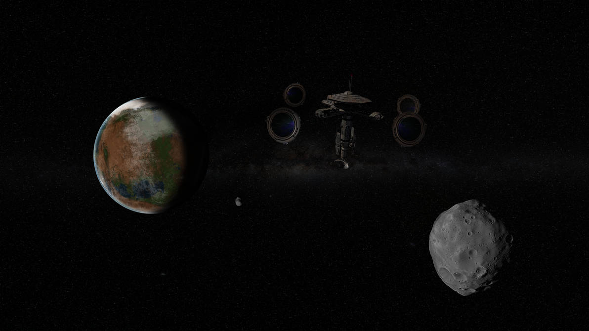 Mars Space View by jporter64060