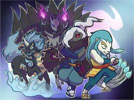 Busters Team by ziodynes098
