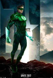 Justice League Green Lantern Poster by 13josh16