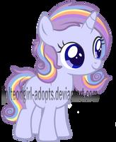 Raridash Foal OTA CLOSED by Jolteongirl-adopts
