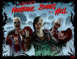 Heavy Metal Zombie Apocalypse by MAGGOTDETH