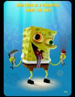 SpongeBob Squarepants by MAGGOTDETH