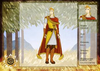 WotC: King Valdrin IV by CherryDrake