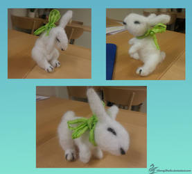 White rabbit by CherryDrake