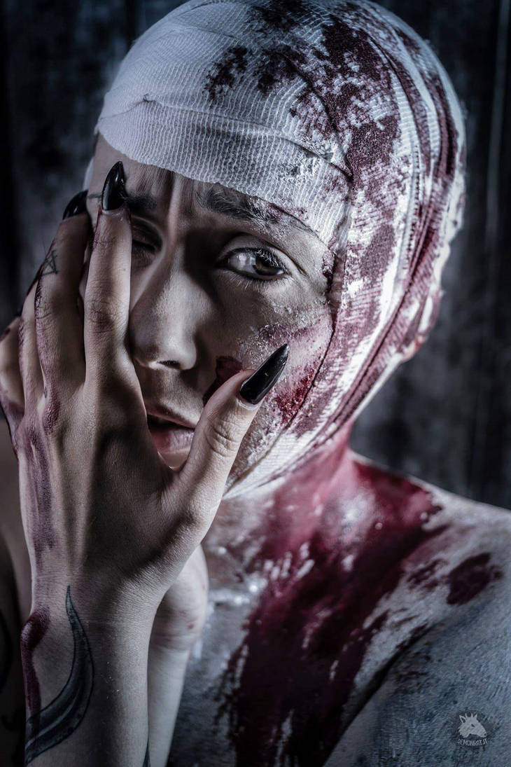 Tribute to Helnwein by Demonrat
