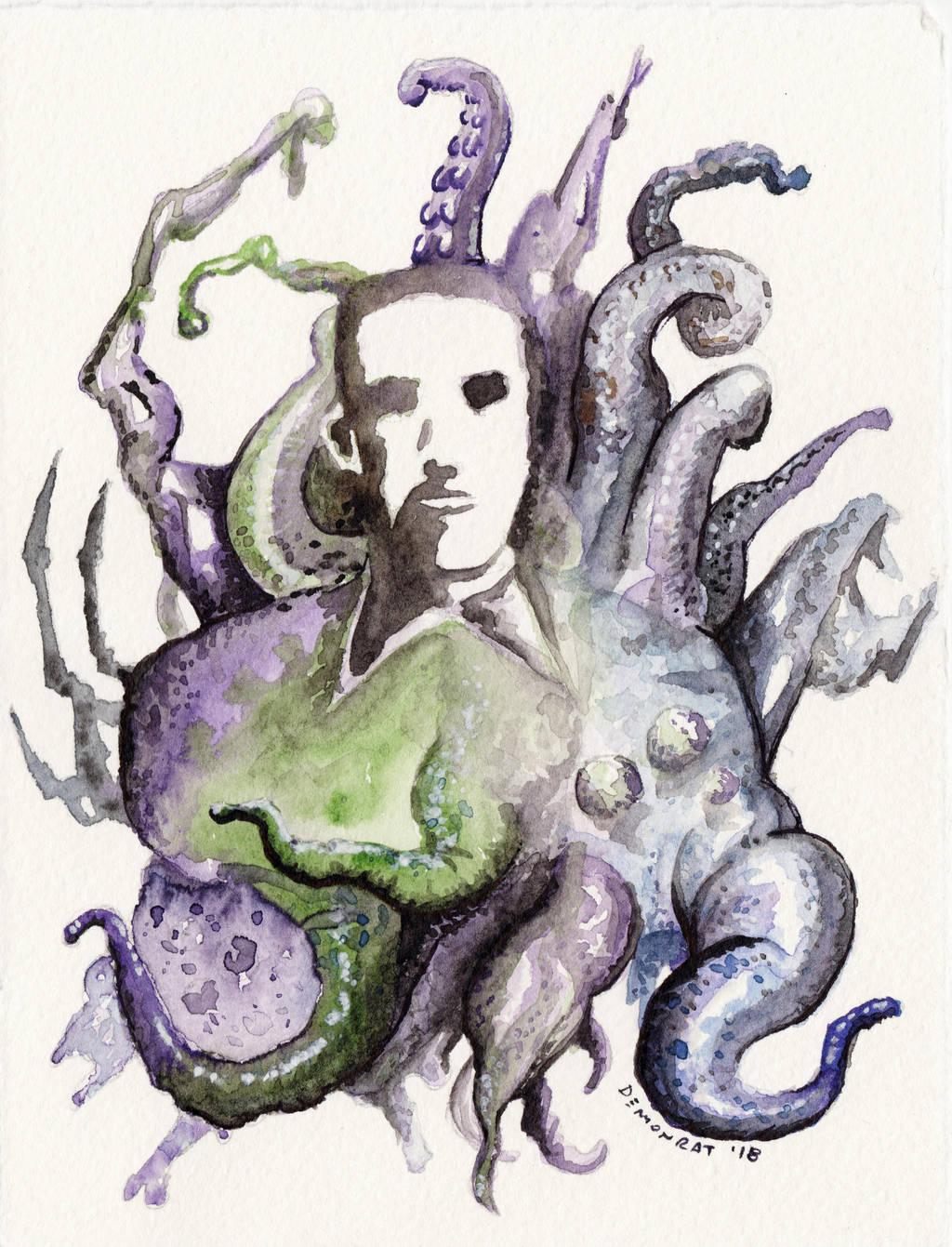 Lovecraft's Mind by Demonrat