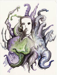 Lovecraft's Mind by Demonrat