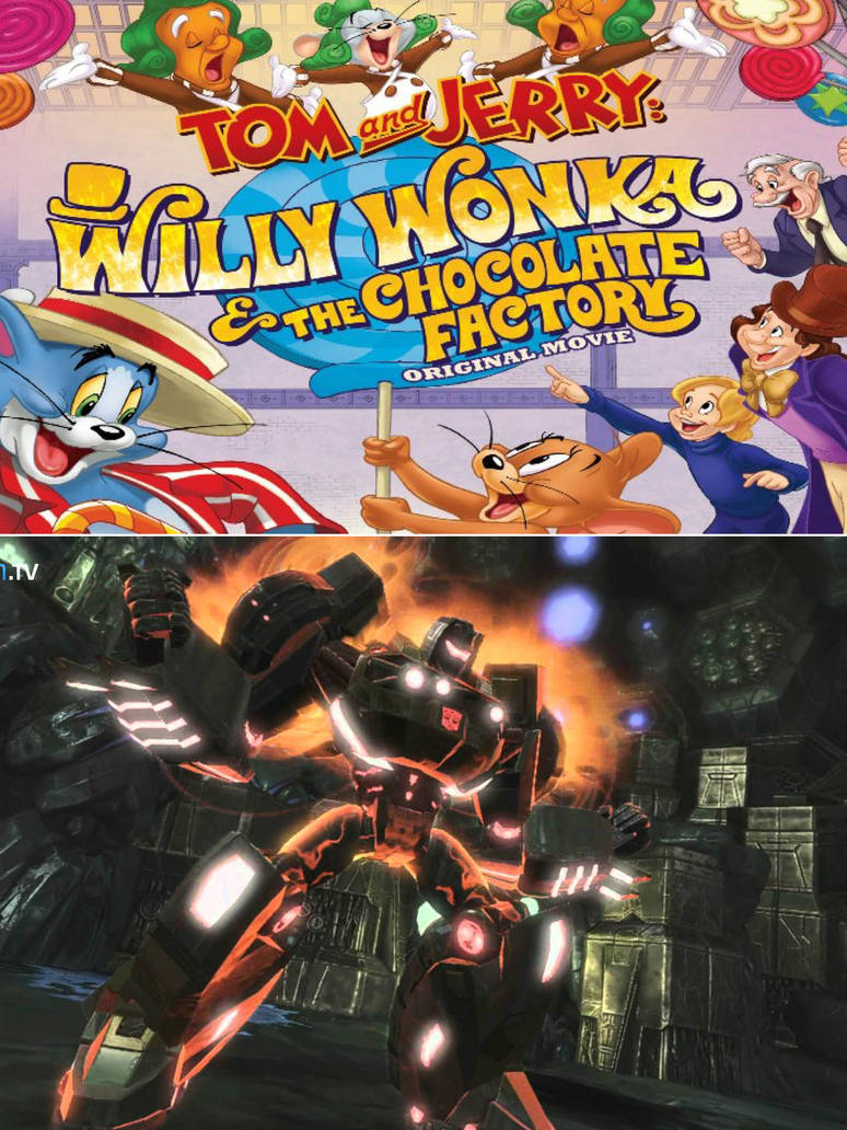 Grimlock Hates Tom And Jerry And Willy Wonka By Epic Wrecker On