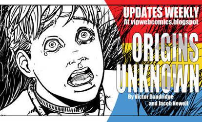 Origins Unknown Webcomic Promo by vantageinhouse