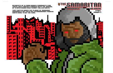 The Samaritan vol 2 8Bit Variant Cover by vantageinhouse