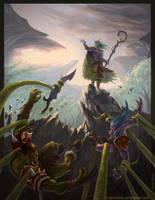 Malfurion Stormrage (Warcraft character) by IvanCi