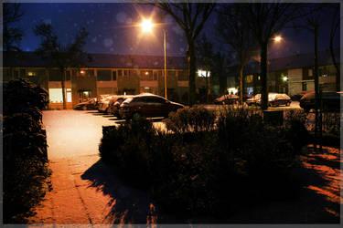 Snow Scene II by Sugarhigh-un