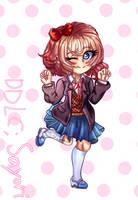 [DDLC Fanart] Sayoriiiii by Maechi-Toff