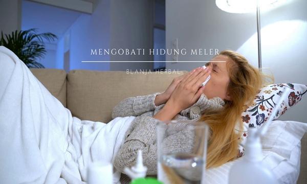 Cara Menghentikan Hidung Meler