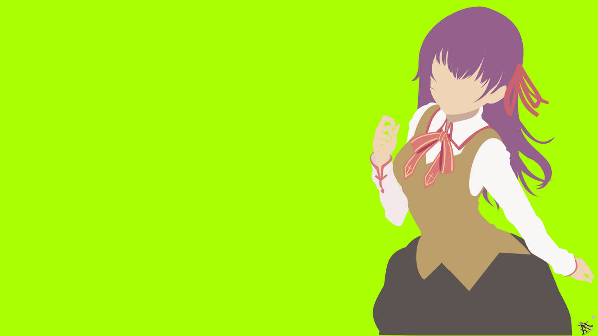 Sakura Matou Wallpaper By Halotroid09 On Deviantart