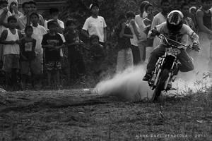 Motard racing by markzz