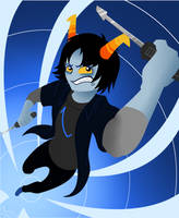 ::Homestuck Fantroll: Zentrum:: by TheBealeCiphers