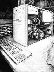 It lives in your PC... by Zwerg-im-Bikini