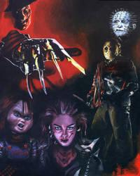 Horror Movies by Zwerg-im-Bikini
