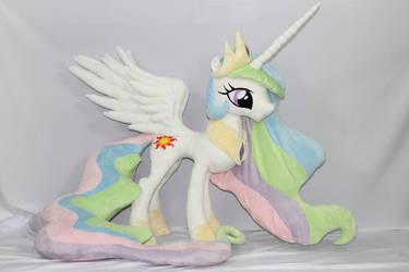 Complete! Life Size Princess Celestia by KarasuNezumi