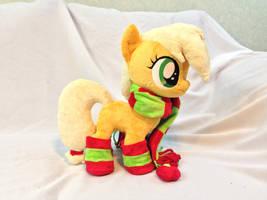 Filly Applejack by KarasuNezumi