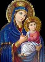 Mary ++ Jesus by joeatta78