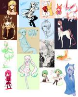 Sketch Dump 2/23/13 by niaro