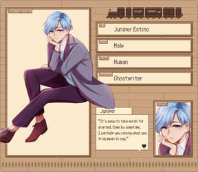 EE: Juniper Estino by niaro