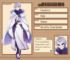 EE: Yasuhiro by niaro