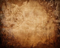 grunge floral paper texture by arghus