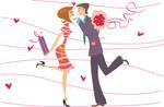 Valentine's day postcard by 13iangel