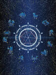 Horoscope postcard v.1 by 13iangel