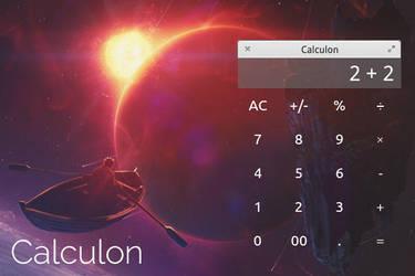 elementary OS Calculon app mockup by 13iangel