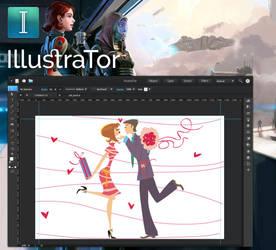 IllustraTor mockup version 1 by 13iangel