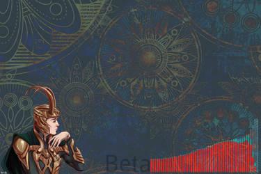 Loki beta wallpaper by 13iangel