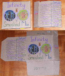 CD Cases: Infinity Smashed Mix by BaaingTree