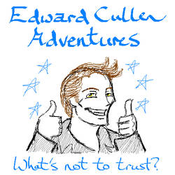 Edward Cullen Adventures by BaaingTree