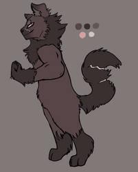 Werewolf Adopt (275 Points) by Echobreeze43