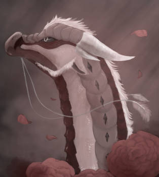 Valor Dragon Painting by Echobreeze43