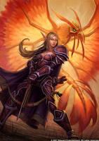 Kassandra Flameheart by GlennRaneArt